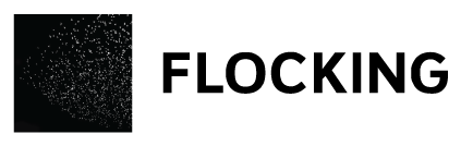 Flocking logo